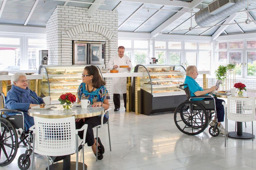 Onsite bakery at Emerge