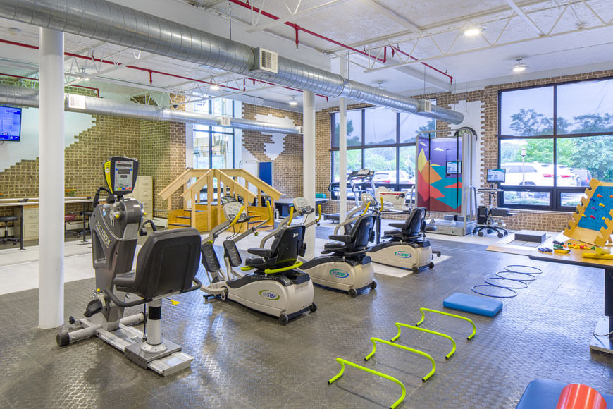 PT gym at Emerge