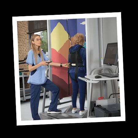 Balance Master at Emerge's Neuro rehabilitation program