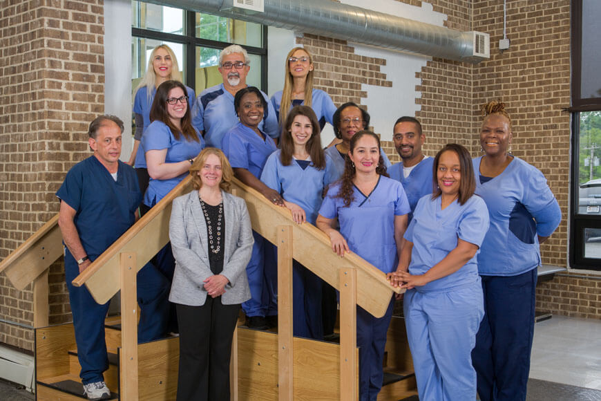 Rehabilitation staff at Emerge on Long Island
