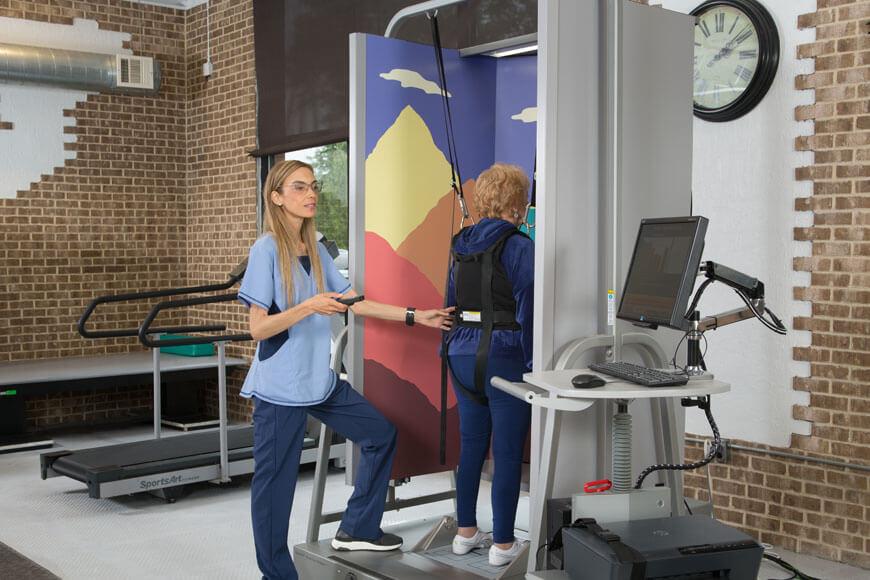 Neuro Rehabilitation with Balance Master